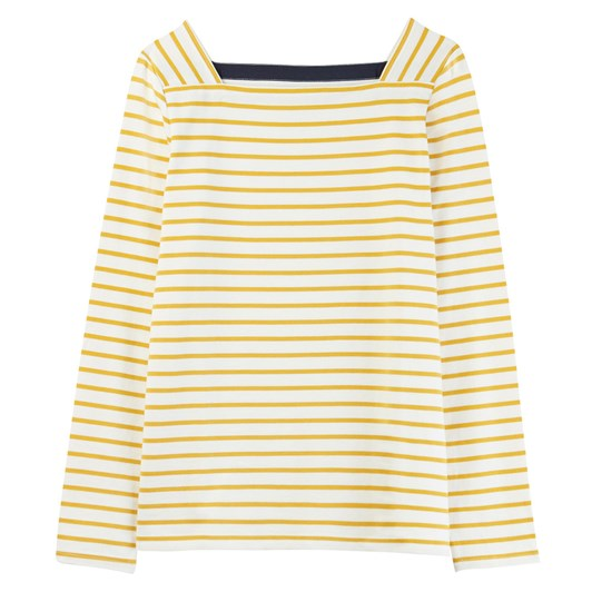 Joules Matilde Square Neck Jersey Top