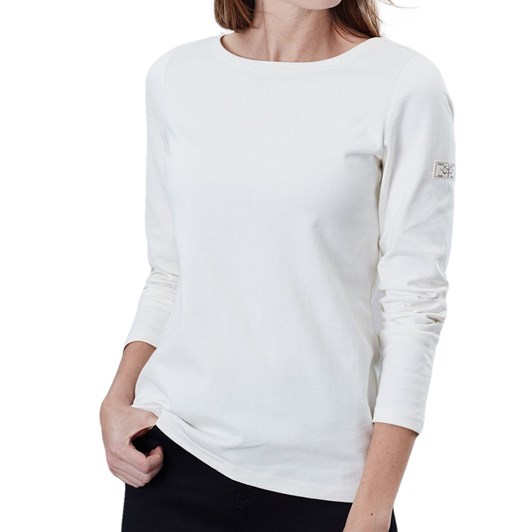 Joules Harbour Solid Long Sleeve Jersey Top