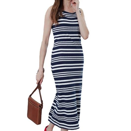 Joules Riva Midi Jersey Dress