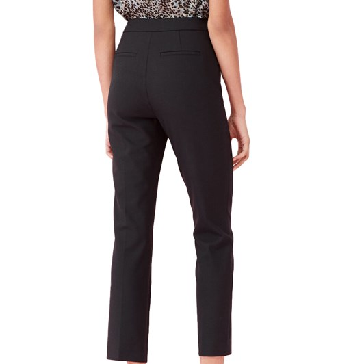 Rebecca Taylor Gabardine Suiting Notch Pant