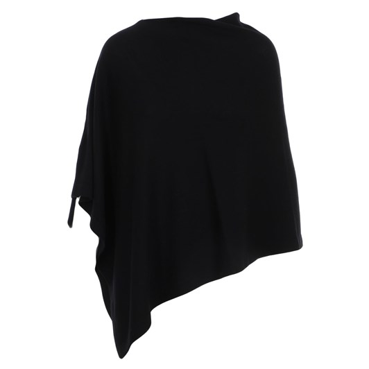 Royal Merino Asymmetric Poncho