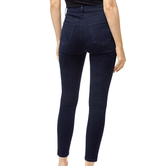 J Brand Lillie High Rise Crop With Exposed Hardware