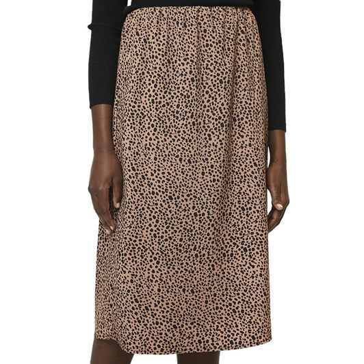 Compania Fantastica Animal Print Knee Length Skirt