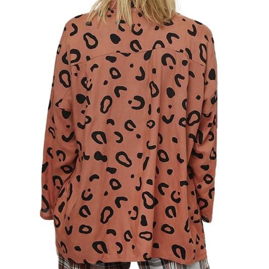 Compania Fantastica Animal Print Shirt
