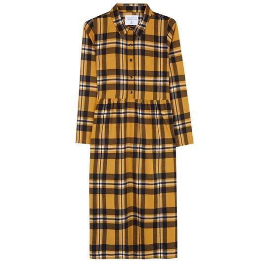 Compania Fantastica Checks Shirt Dress