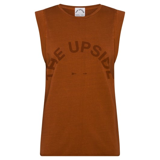The Upside Rust Muscle Tank