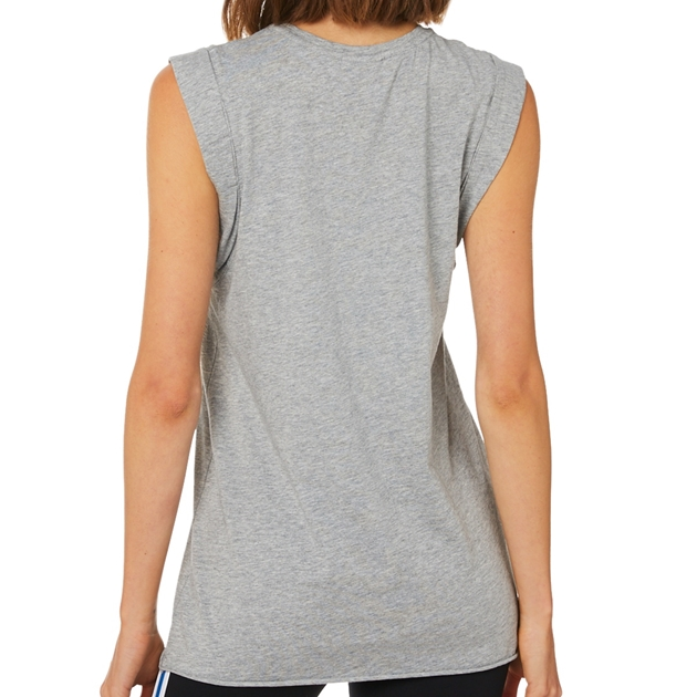 The Upside Muscle Tank - grey marle