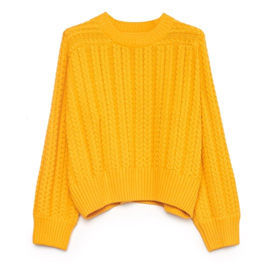 Kowtow Cable Sweater