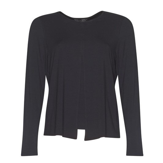 Paula Ryan Box Pleat Ls Top