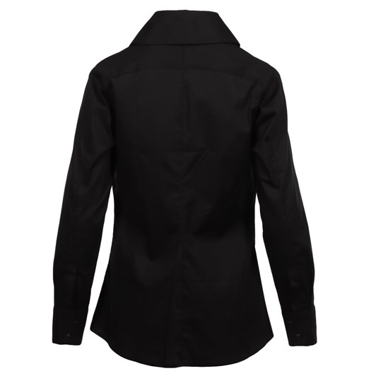 Paula Ryan High Collar Back Trim Shirt