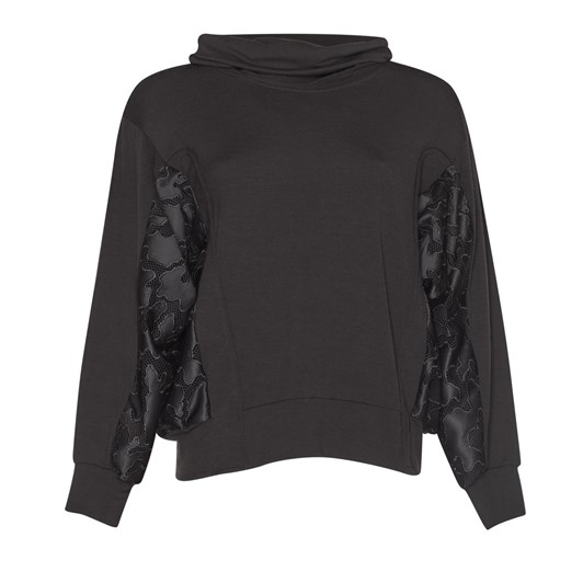 Paula Ryan Side Panel Boxy Sweater