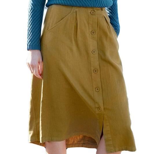 Seasalt Screen Test Skirt Oak