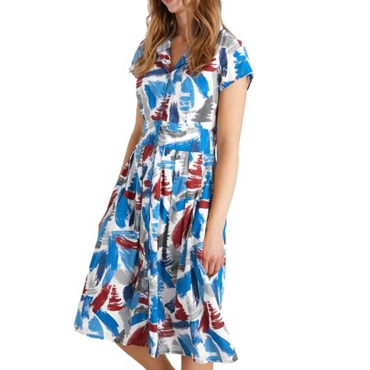 Seasalt Lottie Dress Brushed Sails Dahlia