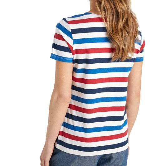 Seasalt Sailor T-Shirt Tri Cornish Rudder Harbour