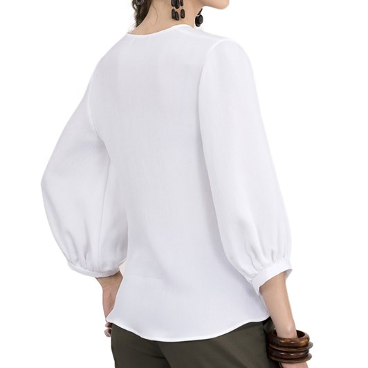 Closet Twisted Front Blouse