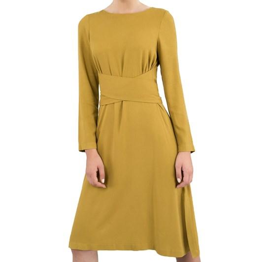 Closet Cross Tie Detail Aline Dress
