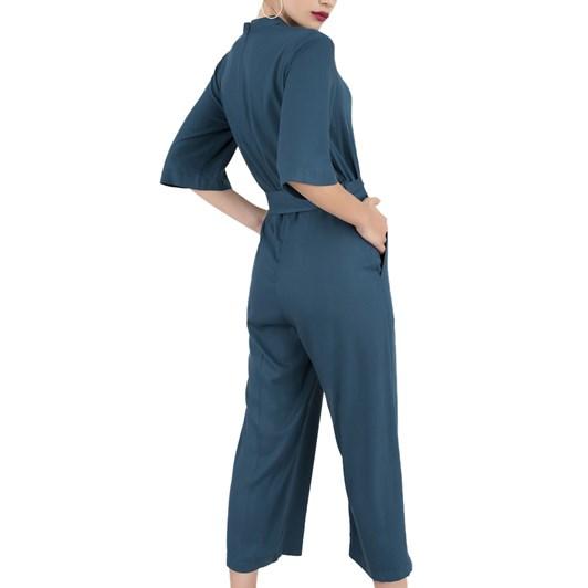 Closet Grandad Collared Jumpsuit
