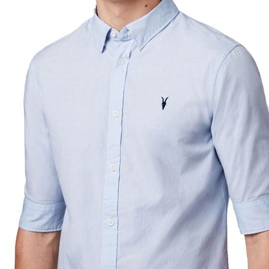 AllSaints Redondo Half-Sleeve Shirt