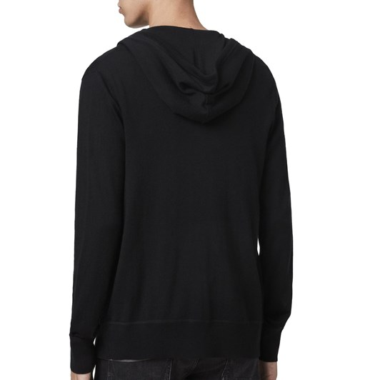 AllSaints Mode Merino Zip Hoody