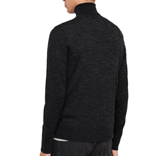 AllSaints Mode Merino Roll Neck Sweater