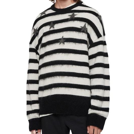 AllSaints Stars Crew Sweater
