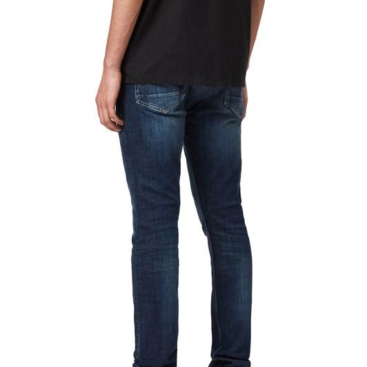 AllSaints Cigarette Skinny Jeans, Indigo