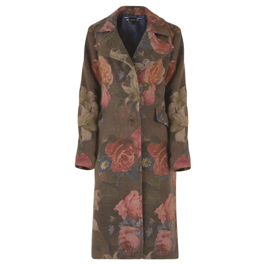 Curate Button Up Coat