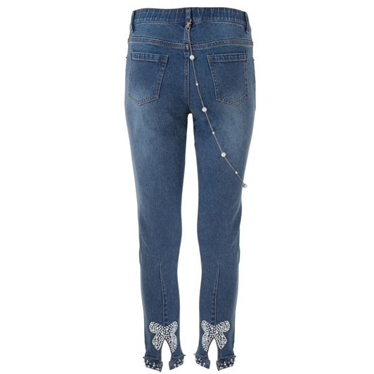 Curate Bow Back Jean