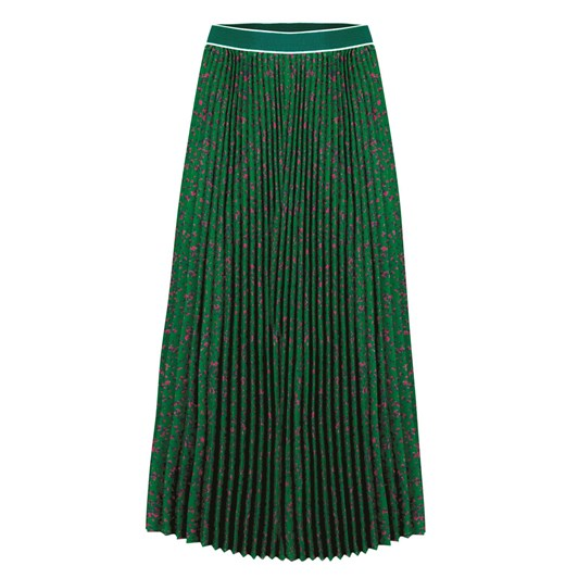 Curate Side Pleat Skirt