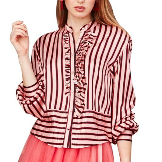 Trelise Cooper Ruffle & Stripe Shirt
