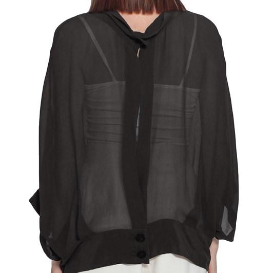 Taylor Sheer Cocoon Jacket