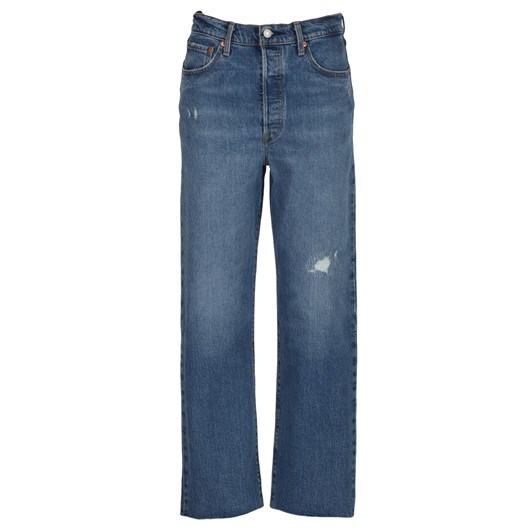 Levis Ribcage Straight Ankle
