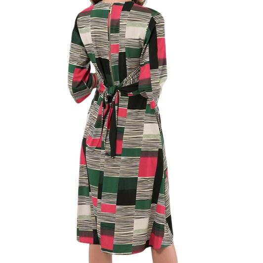 Closet Bell Sleeve Wrap Dress