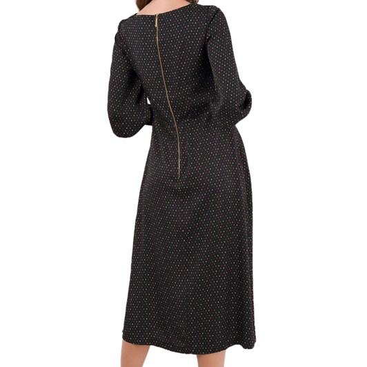 Closet A-Line Midi Dress With Cuff