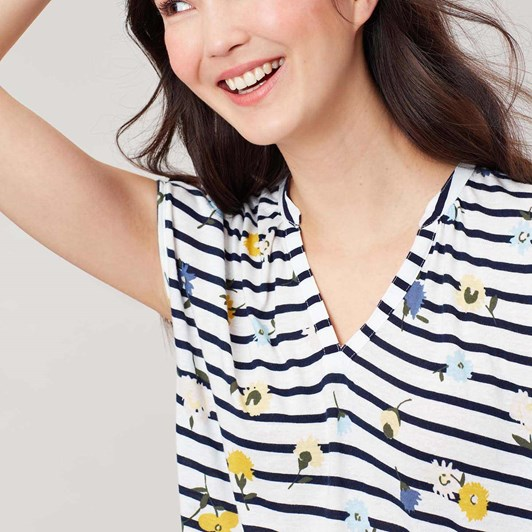 Joules Ryder Print Top