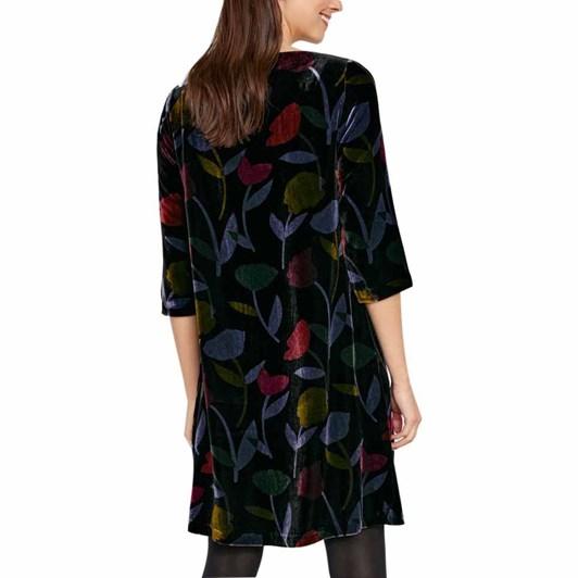 Seasalt Boscawenun Dress Retro Cuttings Black
