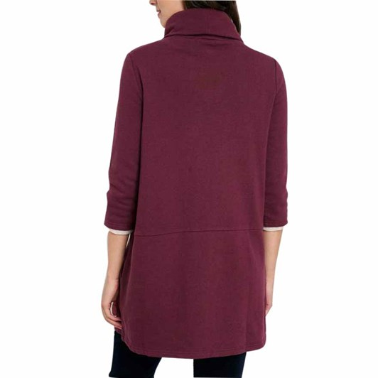 Seasalt Gwenver Sweatshirt Merlot