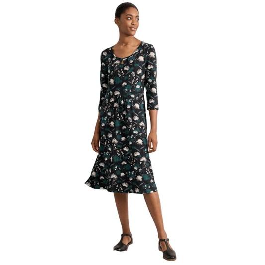 Seasalt Sandhills Dress Thrift Sketch Black
