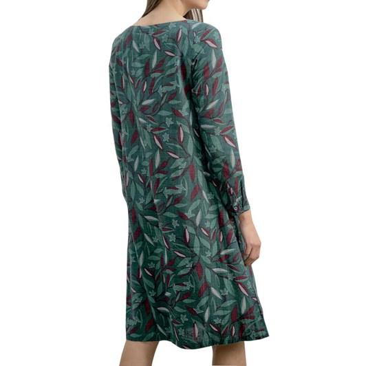 Seasalt Trethias Island Dress Trailing Leaves Thicket