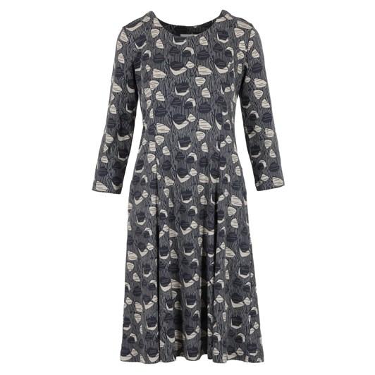 Adini Ally Dress Woodcut Print