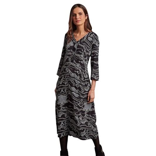 Adini Gina Dress Murakami Print