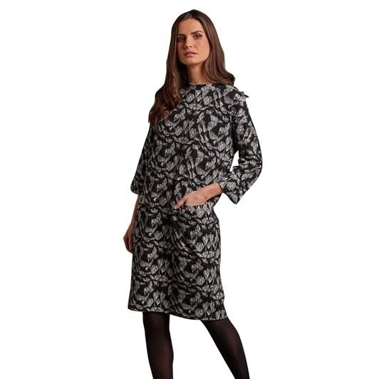 Adini Tracie Dress Polar Weave
