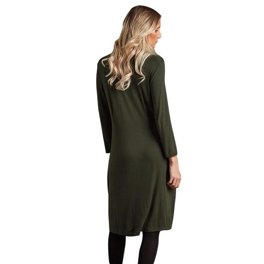 Adini Sherice Dress Solid Viscose