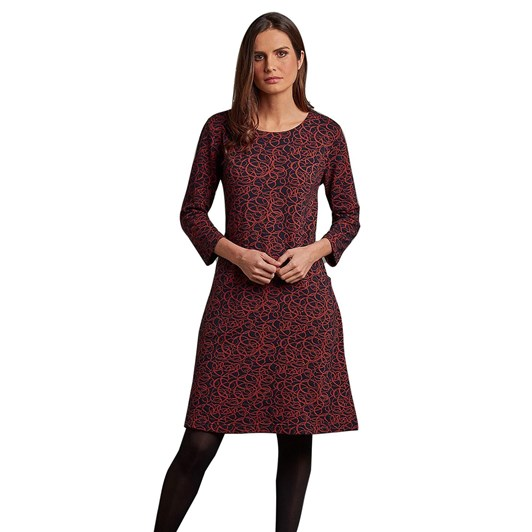 Adini Laurie Dress Circles Weave