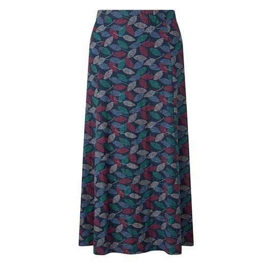 Adini Divina Skirt Textured Leaf Print