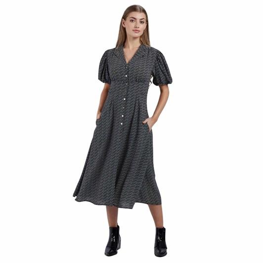 Louche Echo Spot Midi Dress