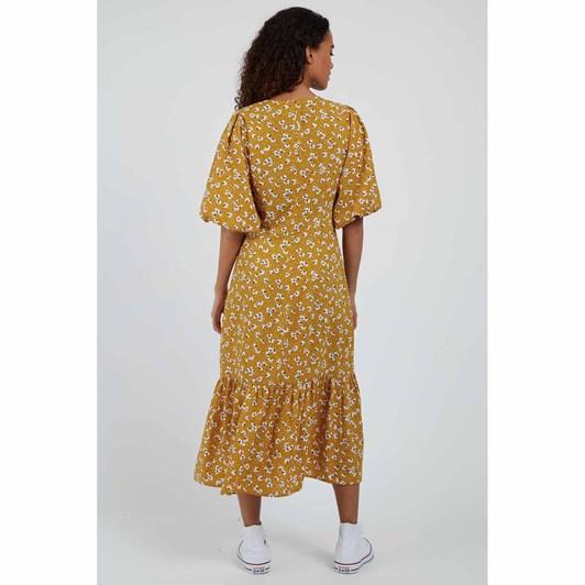 Louche Zeyneb Petal Dot Midi Dress