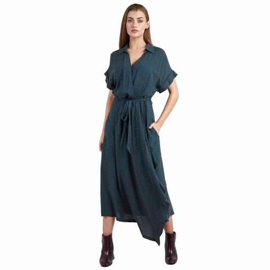 Louche Adira Dot Midi Dress