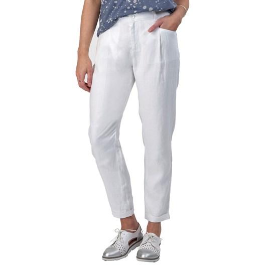 Vassalli Pleat Front Cuffed Linen Pant