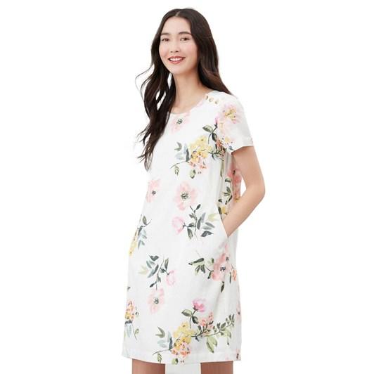 Joules Rosetta Print Dress